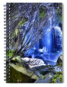 The Thawing Falls Spiral Notebook