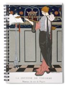 The Theorbo Player Spiral Notebook