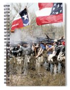 The Thin Gray Line Spiral Notebook