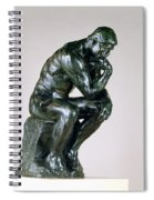 The Thinker, 1880-81 Spiral Notebook