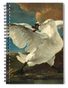 The Threatened Swan Spiral Notebook