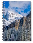 Cathederal Rocks And Bridalveil Spiral Notebook