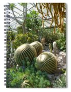 The Three Cacti Spiral Notebook