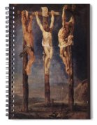The Three Crosses Spiral Notebook
