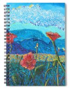 The Three Poppies Spiral Notebook