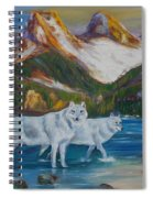 The Three Sister Spiral Notebook