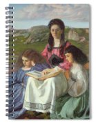 The Three Sisters Of Dean Liddell Spiral Notebook