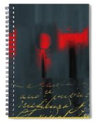 The Three Trees - J22206237a Spiral Notebook