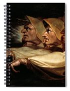 The Three Witches Spiral Notebook