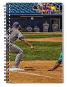 The Throw To First Spiral Notebook