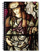 The Tibertine Sibyl In Stained Glass Spiral Notebook