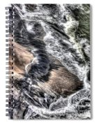The Tide From Above Spiral Notebook
