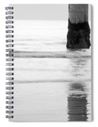 The Tide Of Light Spiral Notebook
