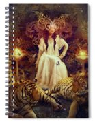 The Tiger Temple Spiral Notebook