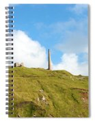 The Tin Mines Of Cornwall Spiral Notebook