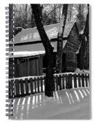 The Tipton Place Homestead II Spiral Notebook