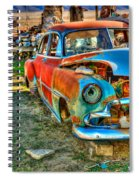 The Tired Chevy 2 Spiral Notebook
