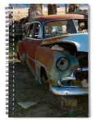 The Tired Chevy 3 Spiral Notebook
