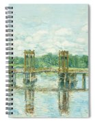 The Toll Bridge New Hampshire Spiral Notebook