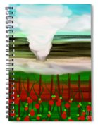 The Tomatoes And The Tornado Spiral Notebook