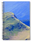The Top Of Catbells In The Lake District Spiral Notebook