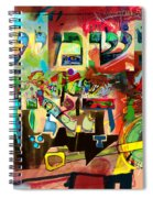 the Torah is aquired with attentive listening 11 Spiral Notebook