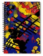 The Torn Fabric Of Life Spiral Notebook