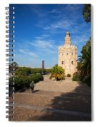 The Torre Del Oro, Gold Tower, Military Spiral Notebook