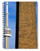 The Tower And The Stack Spiral Notebook