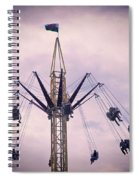 The Tower Swing Ride 1 Spiral Notebook