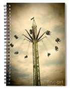 The Tower Swing Ride 2 Spiral Notebook