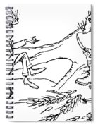 The Town Mouse And The Country Mouse Spiral Notebook