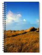 The Trail Through The Grass Spiral Notebook