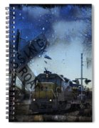 The Train Spiral Notebook
