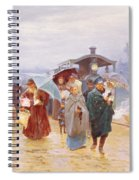 The Train Has Arrived, 1894 Spiral Notebook