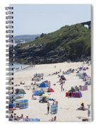 The Train Line Porthminster Spiral Notebook