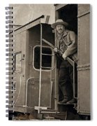 The Train Robber Spiral Notebook
