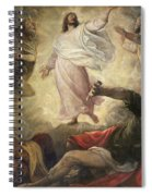 The Transfiguration Of Christ Spiral Notebook