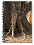 The Tree And The Post Box Spiral Notebook