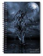 The Tree Of Sawols Cyanotype Spiral Notebook
