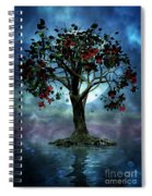 The Tree That Wept A Lake Of Tears Spiral Notebook