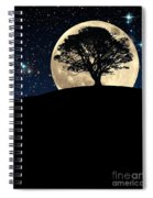 The Tree The Moon The Stars Spiral Notebook