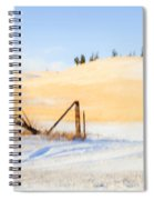 The Trees On The Hill Spiral Notebook