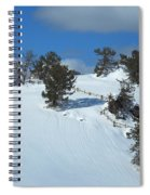 The Trees Take A Snow Day Spiral Notebook