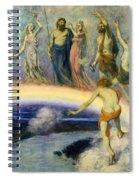 The Trek Of The Gods To Valhalla Spiral Notebook