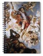 The Triumph Of Saint Hermenegild Spiral Notebook