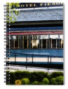 The Trolley Stop - Hotel Fiesole Spiral Notebook