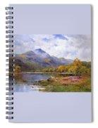 The Trossachs Ben  Spiral Notebook