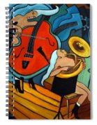 The Tuba Player Spiral Notebook
