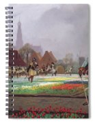 The Tulip Folly Spiral Notebook